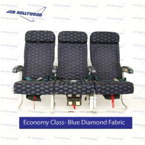 Seats - Economy Blue Diamond Fabric
